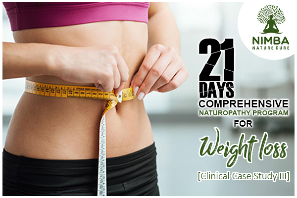 Naturopathy Program for Weight loss Case Study